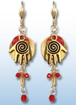 Hamsa Earrings-Whimsical 1
