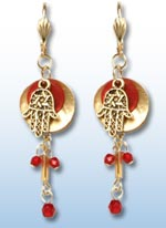 Hamsa Earrings - Traditional 1