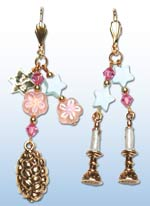 Shabbat Earrings 1