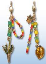 Sukkot Earrings 1
