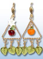 Tu B'Shevat Earrings 1