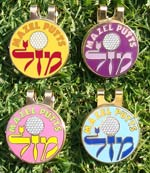 Jewish Golf Ball Markers-4 pack 1